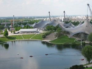 Olympiahalle and Acquatic Center